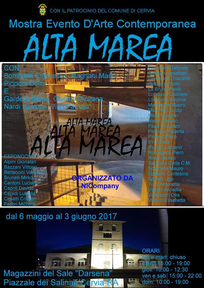 Alta Marea, collettiva (Cervia 2017).